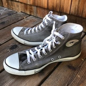 Converse All Star Chuck Taylor High Tops Grey
